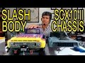 SCX10 II Ford F100 ? How I fitted a Traxxas Slash Body on a SCX10 II Chassis