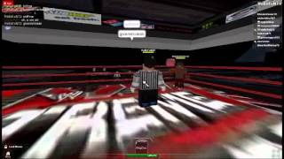 W.W.E (ROBLOX) Extreme Rules Part 1