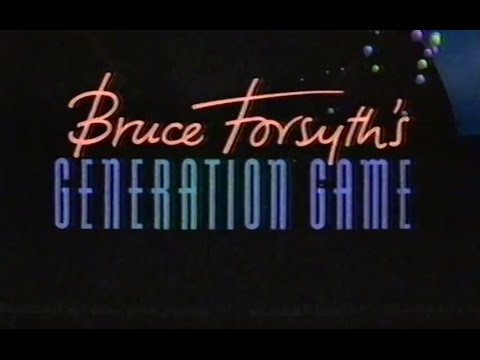 BRUCE FORSYTH'S GENERATION GAME (BBC ONE - 1990)
