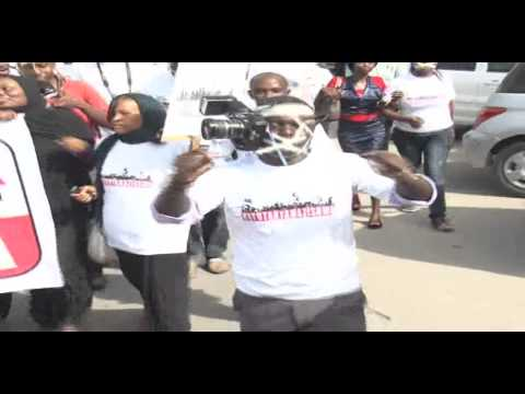 Mombasa Based Journalists Protest Insecurity