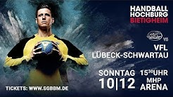 Handball // 2. Handball Bundesliga: SG BBM Bietigheim vs. VfL Lübeck-Schwartau