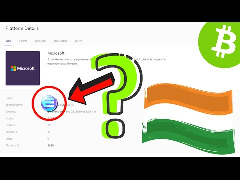 Microsoft Assets on Enjin? Bitcoin Cash Fork | India NOT Banning Bitcoin | SingularityNet | ByBit