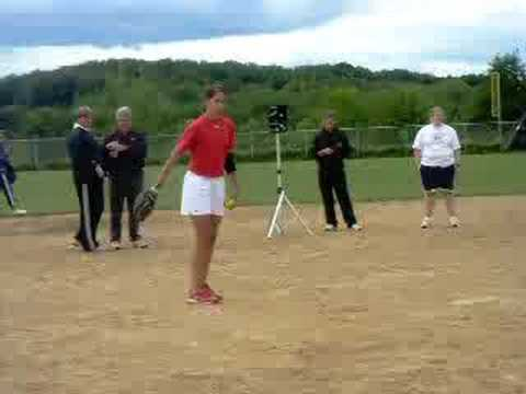 Cat Osterman Pitching Youtube