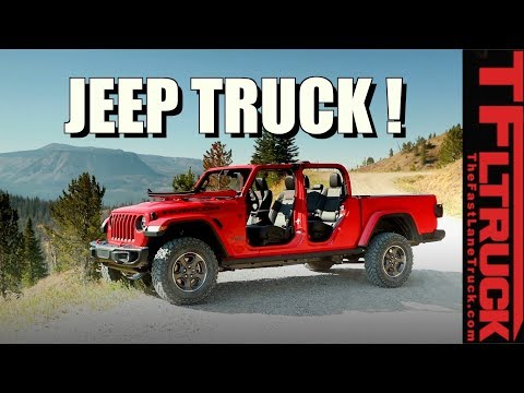 2020 Jeep Gladiator Off-Road Pickup: Here Is Everything You Need to Know!