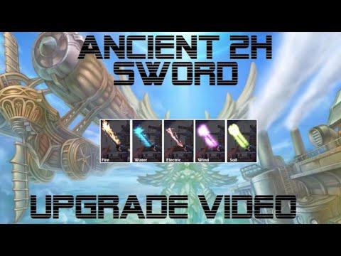 Flyff [Upgrade Video] - Ancient 2 H Sword