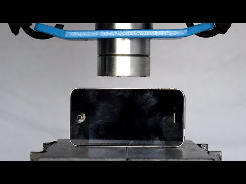 Thumbnail: iPhone vs Hydraulic Press - Pressgate