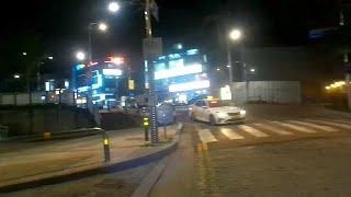 [유프로] 4K 30fps 액션캠 야간 라이딩 촬영