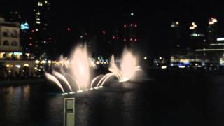 The Dubai Fountain Show - Mon Amour (Oct' 2013)