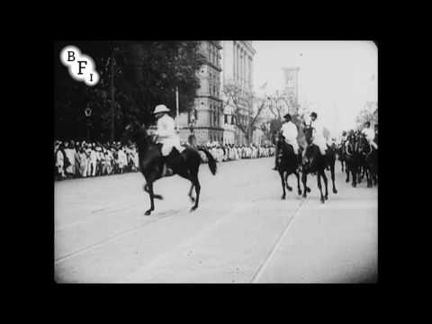 Arrival of the Earl of Lytton at Calcutta (1922)