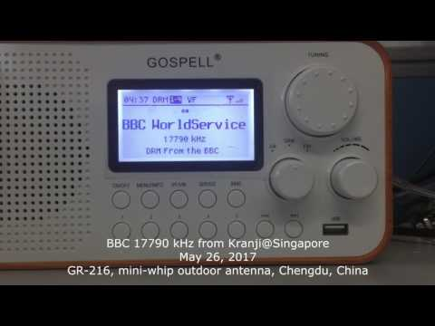 20170526, GR-216 DRM Radio - BBC 17790 kHz