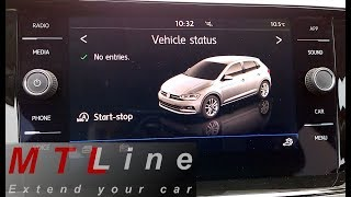 NEW VW Polo, MY2018 - Composition Media short overview - pregled nastavitev Composition Media sistem
