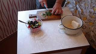 Дачные рецепты. S01E27. Греческий салат - 2