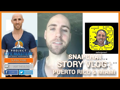 Snapchat Story Vlog: Puerto Rico & Miami