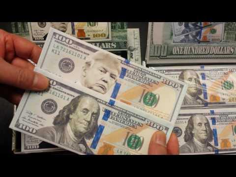 US $100 Bill Money Wallet
