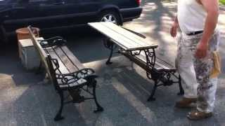Awesome Convertable Picnic Table!