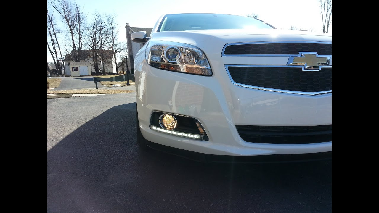 maxresdefault wiring aftermarket fog lights on 2013 malibu youtube 2009 malibu headlight wiring harness at gsmx.co