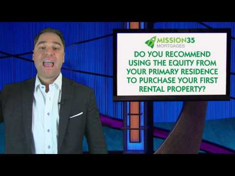 Mi35 Monday Mailbag - Primary residence equity for rental property?