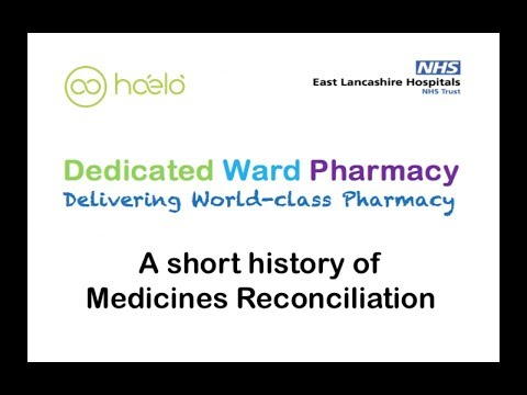 A Short History of Medicines Reconciliation