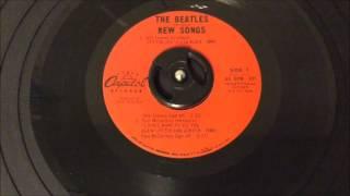 The Beatles Introduce New Songs Repro 45 - John & Paul Spoken Bits