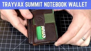 Trayvax Summit Notebook Wallet Review