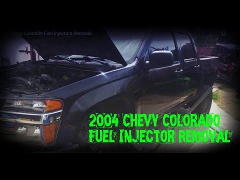 04 Chevy Colorado Fuel Injectors Removal - YouTubeYouTube