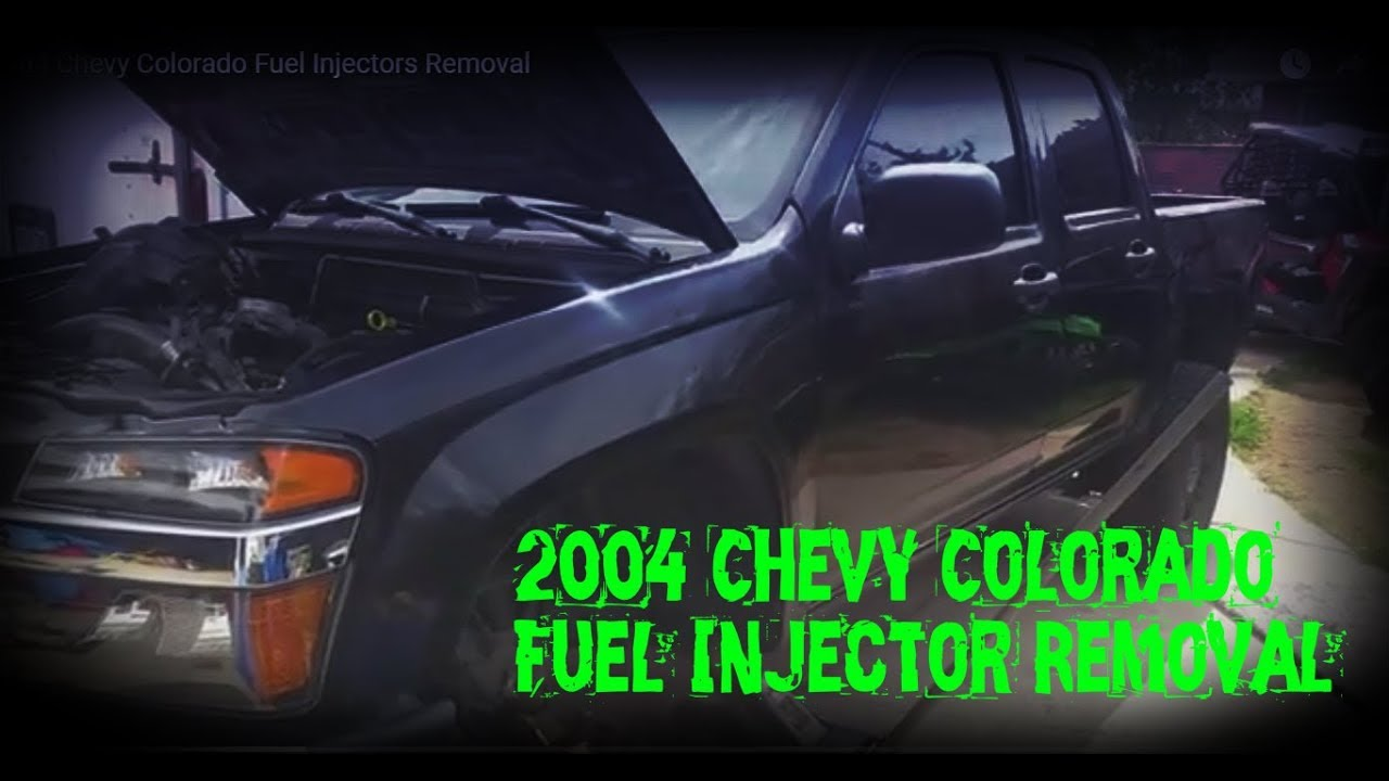 medium resolution of 04 chevy colorado fuel injectors removal