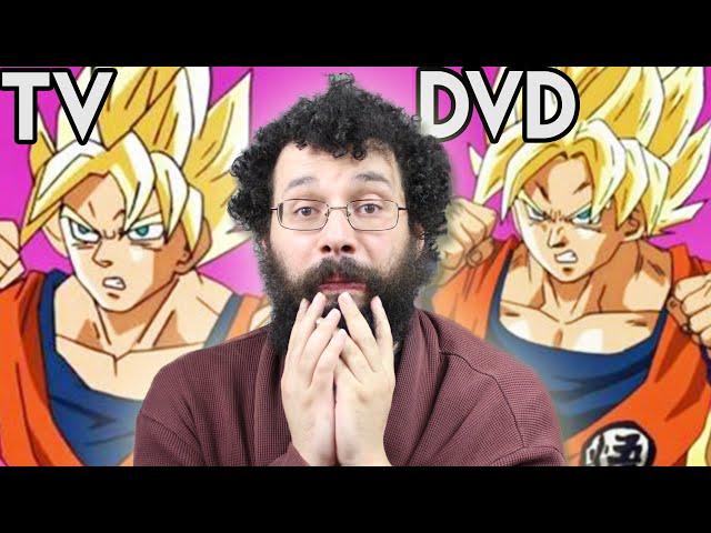 Ces Anime MOCHES à la TV, MIEUX en DVD - Ermite Moderne REDIFF