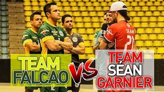 TEAM FALCAO vs SÉAN GARNIER ! CRAZY SKILLS AT REIS DO DRIBLE