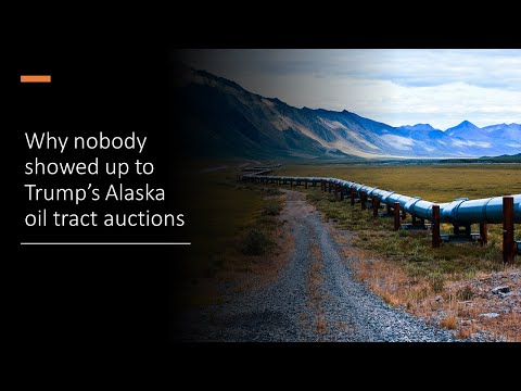 Arctic Oil Rights: Why the Major Oil Companies Had No Interest in Trump's Last-minute Auction