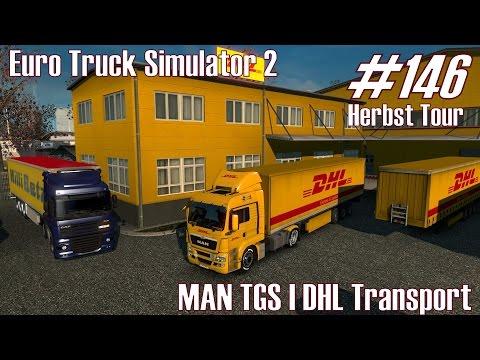ETS2 ★ MAN TGS I DHL Transport ★ #146 Herbst Tour [Deutsch/HD]