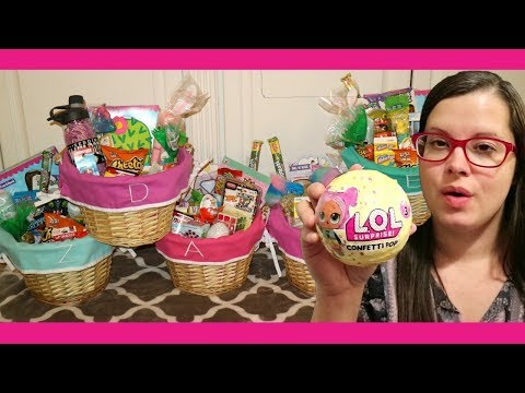 What's in my kids Easter baskets 2018!