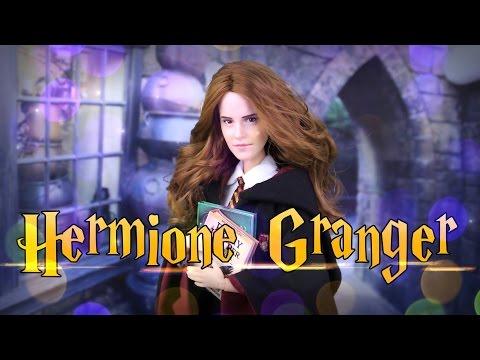 diy---how-to-make:-harry-potter-hermione-granger-custom-doll-|-handmade-crafts-|-4k