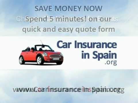 Car Insurance Spain in English for Expats