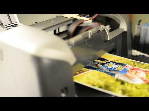 Печать фото формата А4 на принтере Epson R300 (print) Рождение фотографии