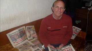 Коллекционер газет из Болгарии (2017-02-06)