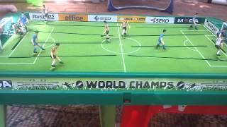STIGA Table Soccer: Italy vs. Germany (with music)