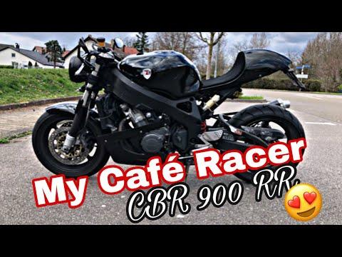 Honda Cbr 900 Rr Cafe Racer Youtube