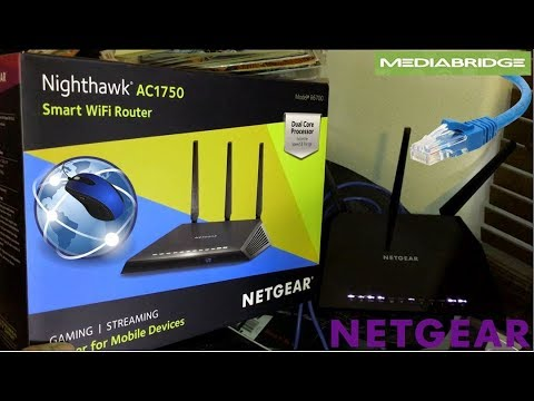 netgear r6700 nighthawk ac1750 dual band smart wifi router. Black Bedroom Furniture Sets. Home Design Ideas