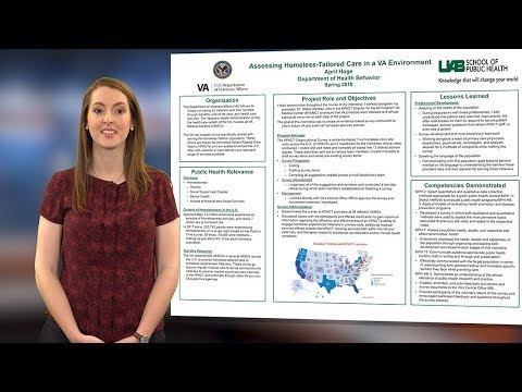 UAB School of Public Health - Internship Experience - April Hoge