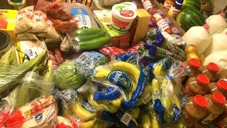 HUGE Large Family $620 Once-A-Month Grocery Shopping Haul!