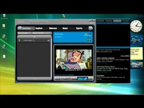 Nabil's Computer Show-How to Use TVU Player, Free TV