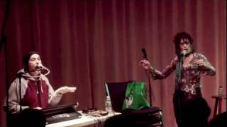 Shelley Hirsch and the Shaking Ray Levis on Roulette TV, Dec 2009 (Part 2 of 2)