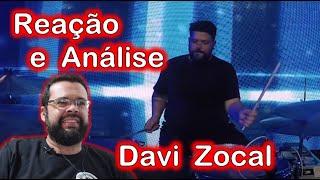 Reação e Análise de Davi Zocal  - Bateras de Worship