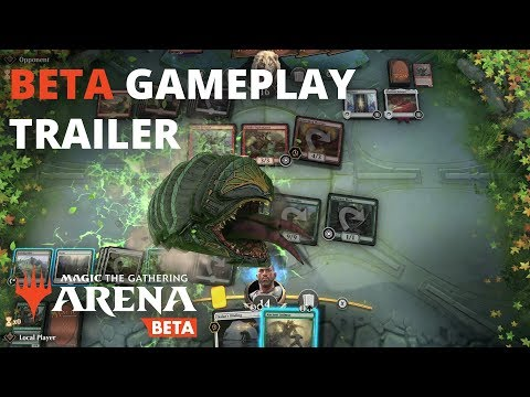 Magic: The Gathering Arena - Beta Gameplay Trailer (Official