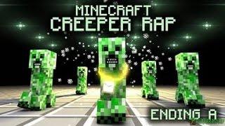 Creeper Rap English Рэп Крипера Английский не мой я распостроняю