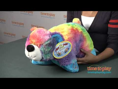 Pillow Pets Premium Peaceful Bear From Cj Products Youtube