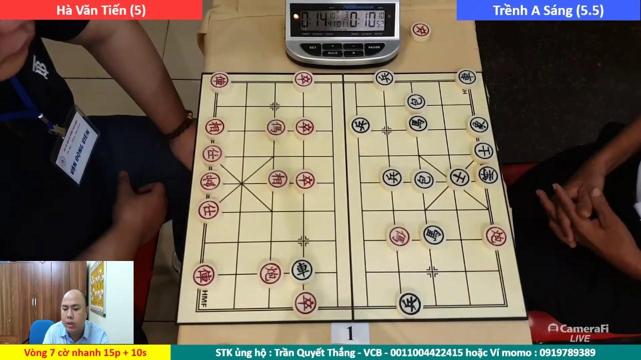 [LIVE] Vòng 7+8+9 : Nội dung cờ nhanh giải vô địch cờ tướng Việt Nam năm 2020
