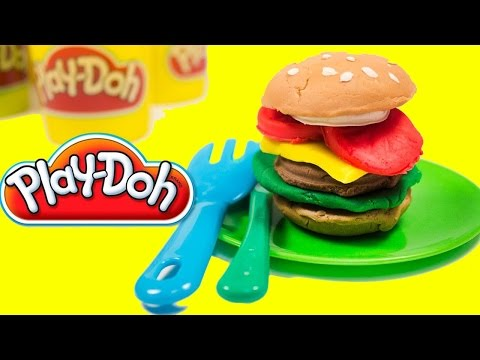 Thumbnail: Burger Play doh playset fun for kids