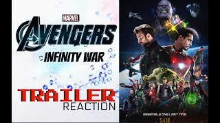 Reazione a AVENGERS: INFINITY WAR (Trailer)