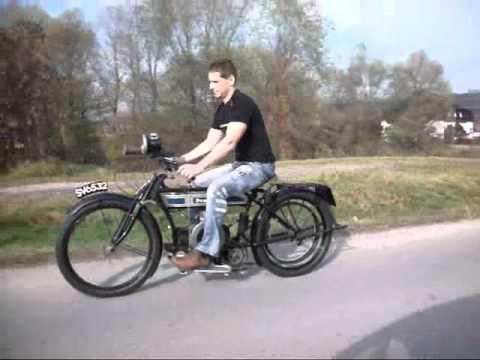 Douglas 1916 Vintage Lightweight Motorcycle
